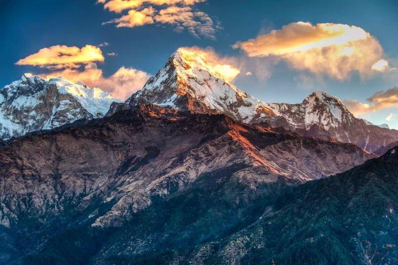 Аннапурна на севере центрального Непала