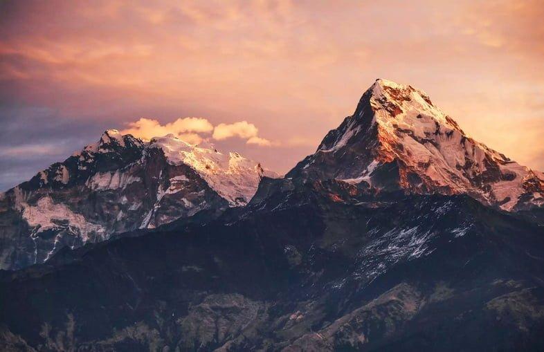 Базовый лагерь Дхаулагири в Непале
