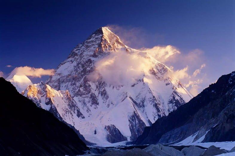 Гора К2 в Пакистане