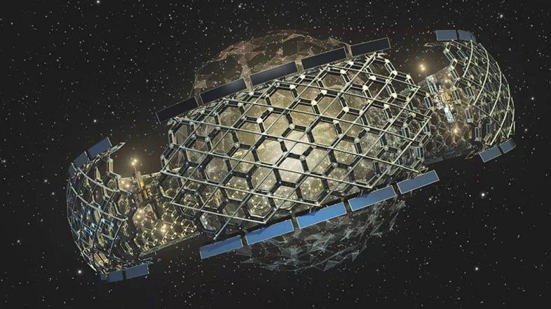 Инопланетный космический корабль
