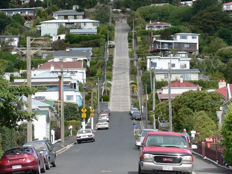 Болдуин-стрит в Данидине, Новая Зеландия