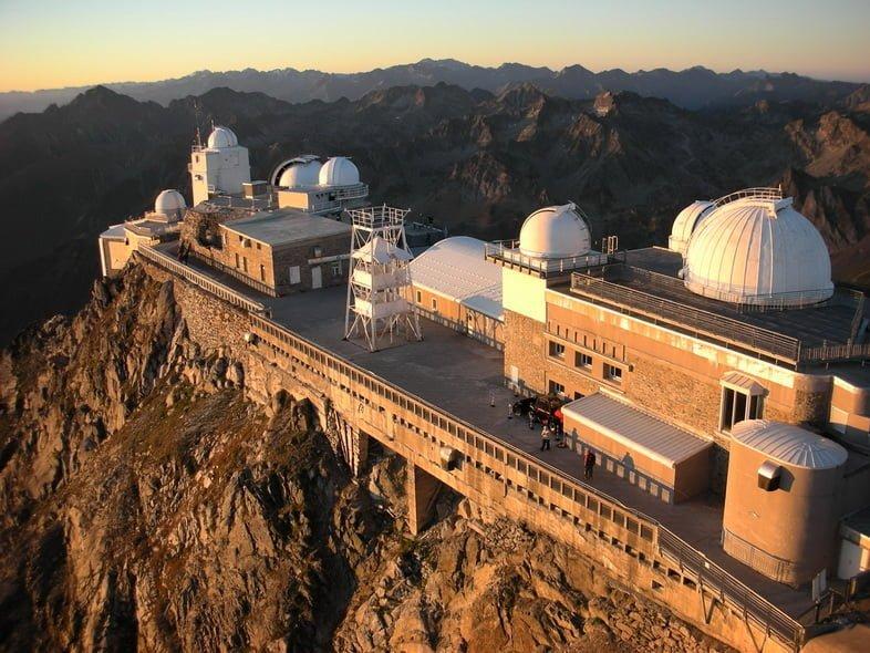 Обсерватория Пик-дю-Миди на горе французских Пиренеев