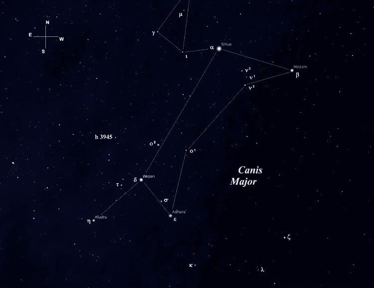 Созвездие Большого Пса