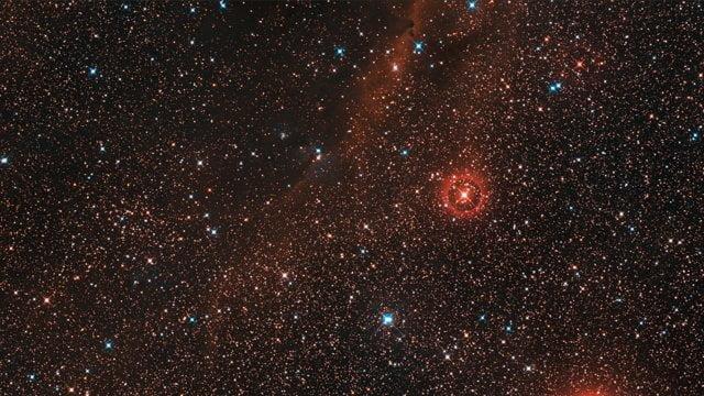 Изображение окрестностей звезды VY Большого Пса