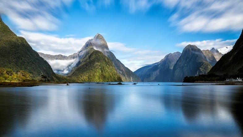 Фотография Бухты Милфорд, Новая Зеландия