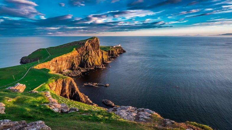 Фотография острова Скай, Шотландия