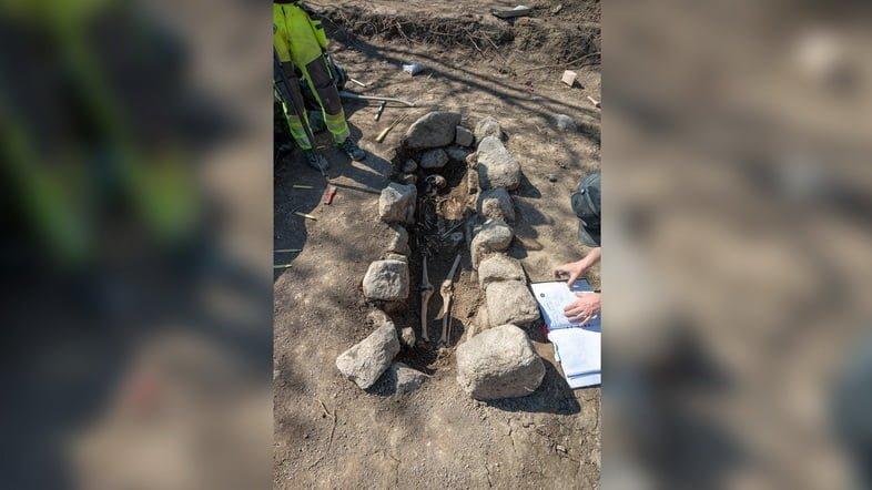 В этой гробнице археологи нашли каменный ящик