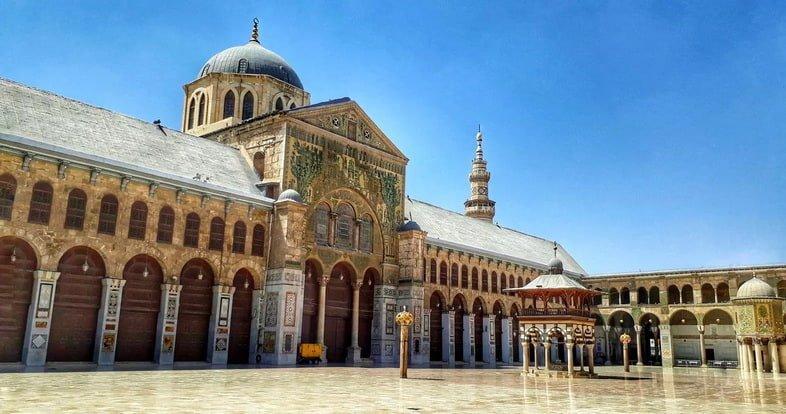 Историческое здание в Дамаске, Сирия