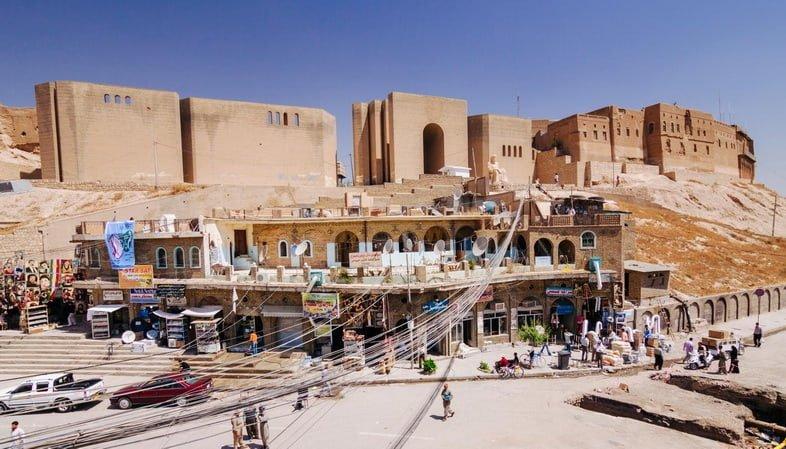 Цитадель Эрбиль в Иракском Курдистане