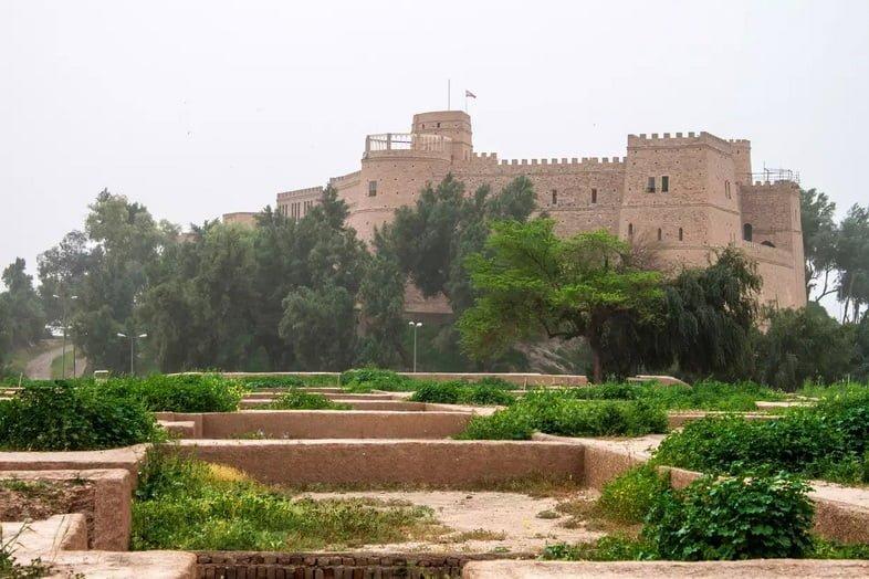 Дворец Дария в Сузах, Иран