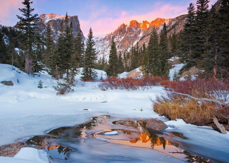 Национальный парк Роки-Маунтин, Колорадо, США